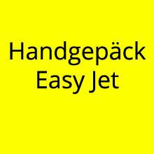 Handgepäck Easyjet