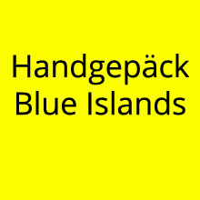 Handgepäck Blue Islands