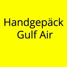 Handgepäck Gulf Air