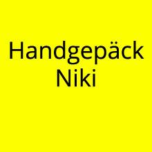 Handgepäck Bestimmungen Airline Niki