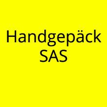 Handgepäck Bestimmungen SAS