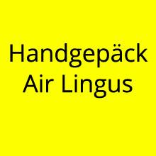 Handgepäck Air Lingus