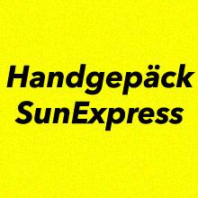Handgepäck SunExpress