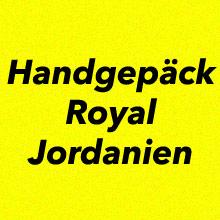Handgepäck Bestimmungen Royal Jordanien