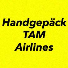 Handgepäck Bestimmungen TAM Airlines