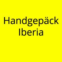 Handgepäck Iberia