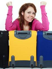Handgepäck als Koffer