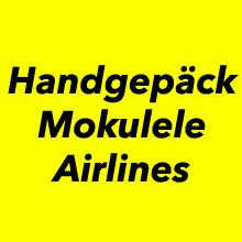 Handgepäck Bestimmung für Mokulele Airlines