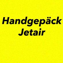Handgepäck Jetair