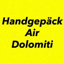 Handgepäck Bestimmungen Air Dolomiti