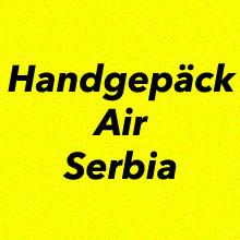 Handgepäck Bestimmungen Air Serbia
